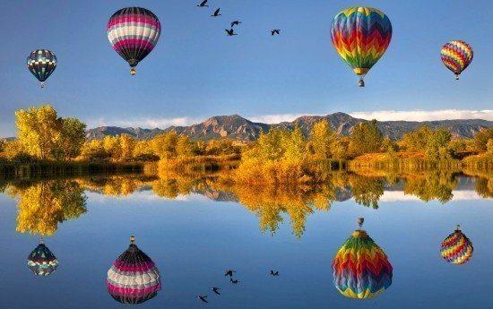 Uçan Balon hayallere yolculuk gezi yol ulaşım ulaşma karar istek