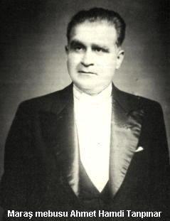 Kahramanmaraş Milletvekili Tanpınar