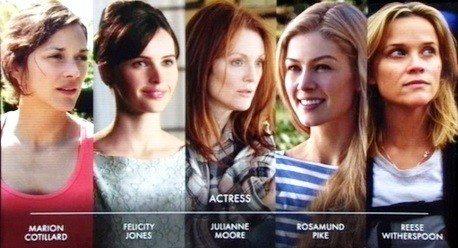 2015 Akademi Ödülleri En İyi Kadın Oyuncu Adayları