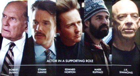 2015 Akademi Ödülleri En İyi Yardımcı Erkek Oyuncu Adayları