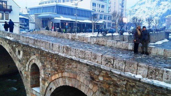 kosova Prizren Taş Köprü