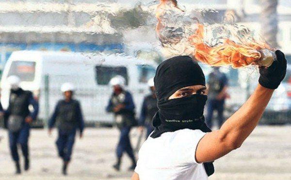 İç güvenlik paketi molotof eylemci polis toma biber gazı