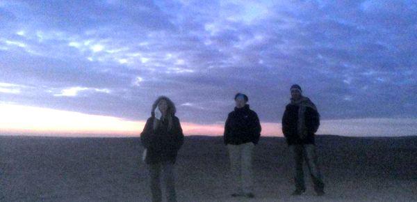 mısır çöl piramitler çölde gece 1
