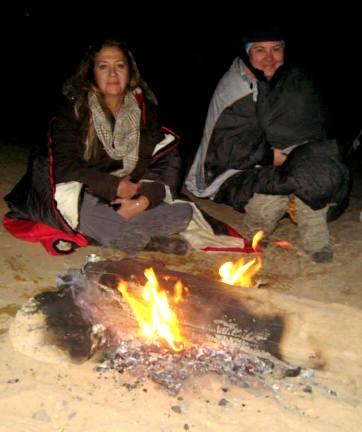 mısır çöl piramitler çölde gece 5
