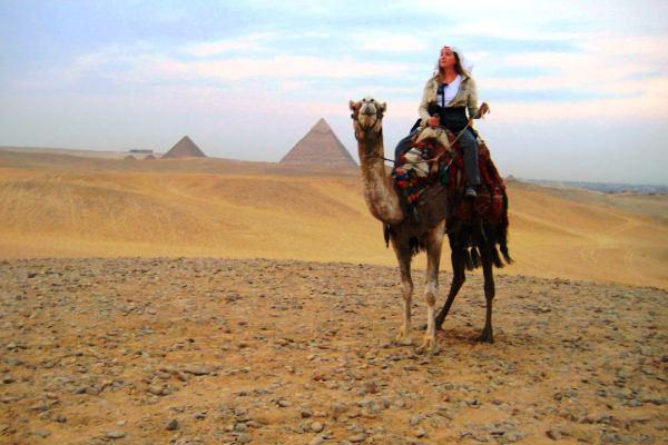 mısır çöl piramitler çölde gece 8