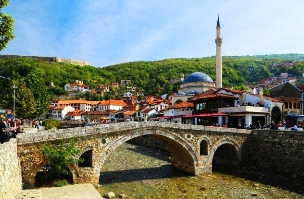 prizren taş köprü kosova
