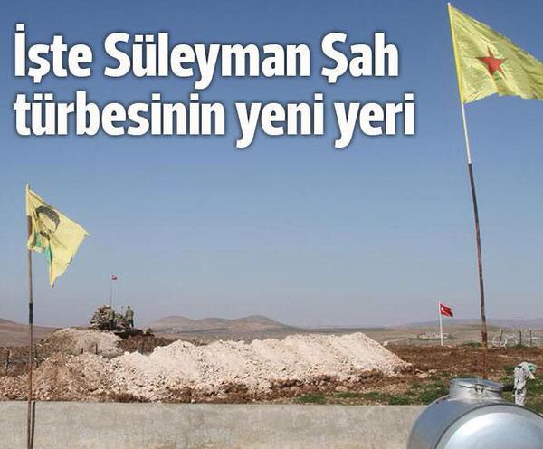 Süleyman Şah Türbesinin yeni yeri PKK PYG kontrolünde mi?