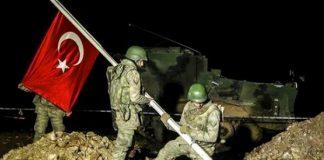 TSK Türk Askeri Suriye Şah Fırat Operasyonu