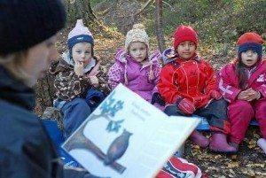 norveç doğa eğitim çocuklar