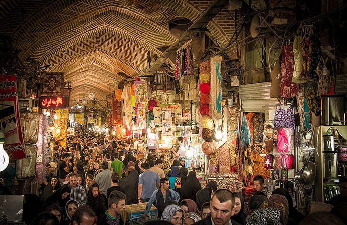 iran pazar