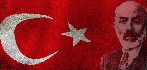 mehmet akif ersoy türkiye türk bayrağı