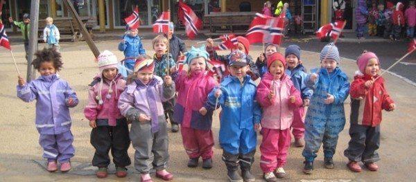 norveç çocuklar