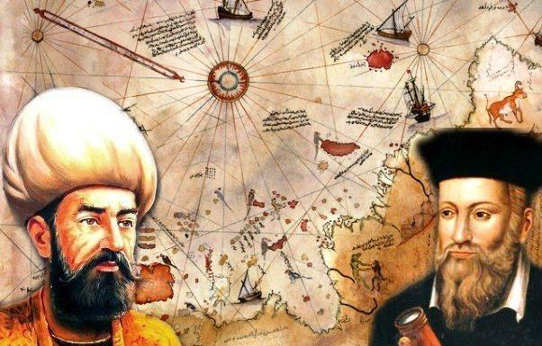 piri reis haritası nostradamus sercan leylek
