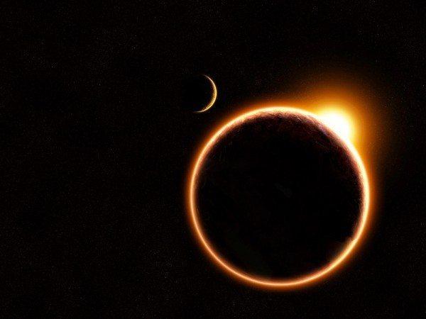 ay güneş tutulması