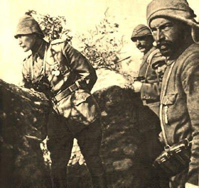 yarbay mustafa kemal arıburnu gelibolu çanakkale savaşı