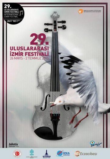 29 uluslarası izmir festivali Afiş