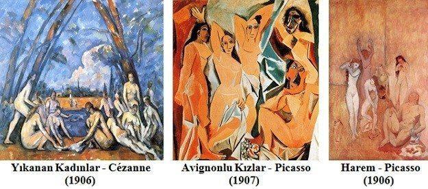 Avignonlu Kızlar Rashomon