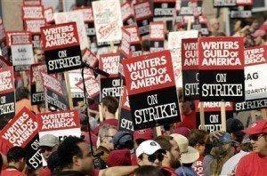 amerika senarist sektörü grevi dizi sektörü grevde