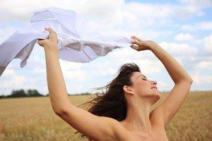 Sexy Frau Haut nackt Wäsche Hemd