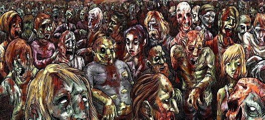 ütopya zombileland zombie