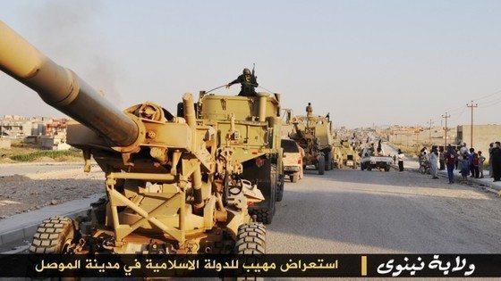 ışid deaş ırak şam islam devleti lojistik mühimmat silah