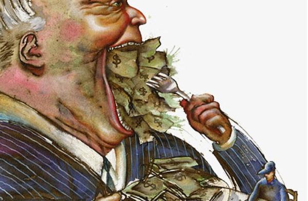 Tükürük yalayıcı politikacılar ve koalisyon kapak