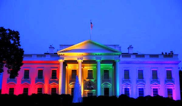 beyaz saray lgbti gökkuşağı eşcinsel