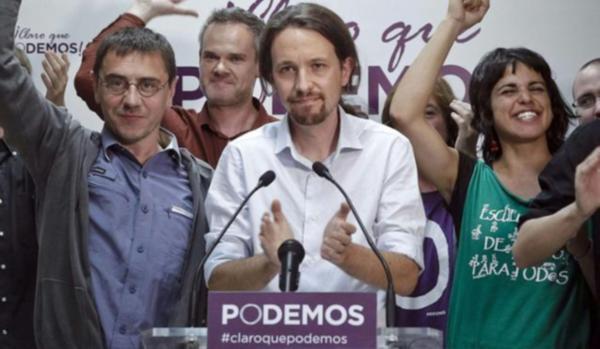 Pablo Manuel Iglesias Turrion ispanya öfkeliler hareketi yunanistan