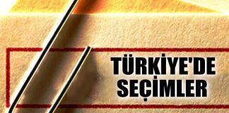 türkiye genel seçim 2015 seçim sonuçları
