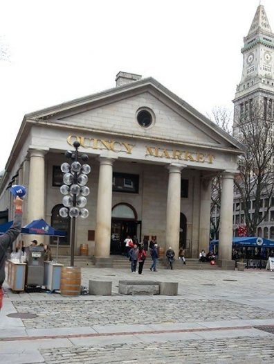 Quincy Market boston ABD amerika