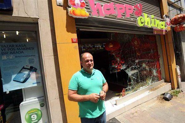 çin restoranı happy china saldırı ülke türkiye uygur doğu türkistan