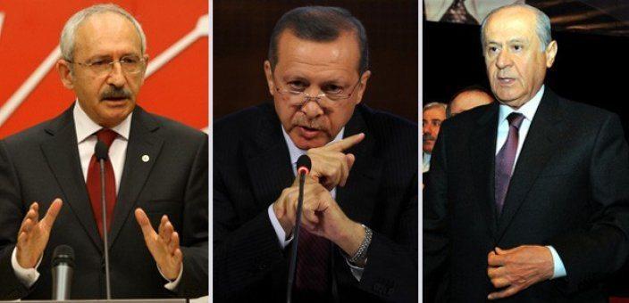 ülke kılıçdaroğlu erdoğan bahçeli koalisyon pazarlıkları akp chp mhp hdp ülke türkiye seçim 2015