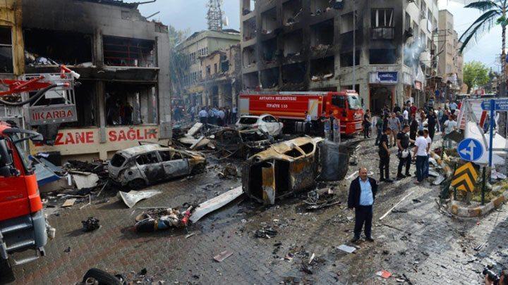 reyhanlı saldırısı IŞİD terör saldırı canlı bomba suruç urfa
