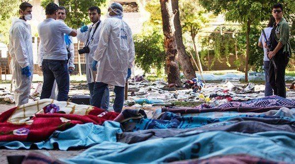 IŞİD suruç terör saldırısı urfa IŞİD suruç canlı bomba patlama sgdf