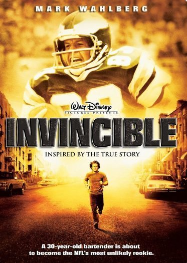 yenilmez filmi invincible mark wahlberg sinema vince papale yenilmez spor filmleri walt disney kapak