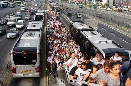 metrobüs göç süresi metrobüs çilesi