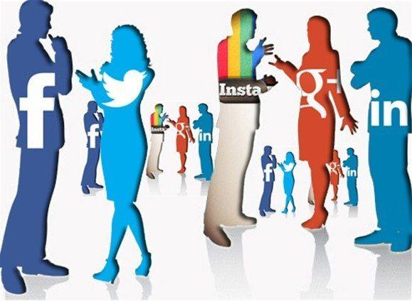 sosyal medya google facebook twitter instagram linkedin google plus
