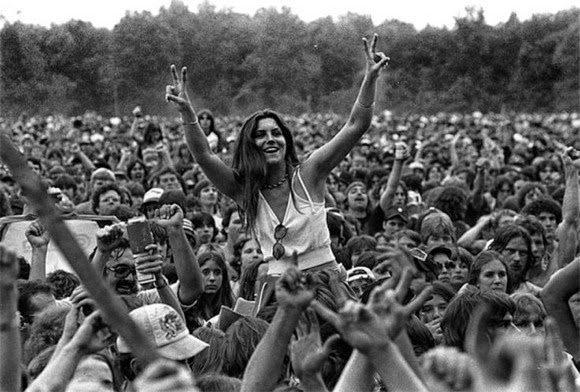 woodstock 1969 1970 vietnam ABD