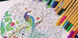 yetişkinlere boyama kitabı yaratıcılık