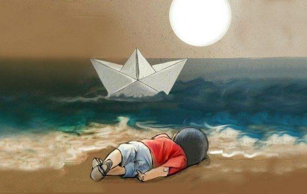 suriyeli aylan bebek bodrum göçmenler mülteciler çocuk ege avrupa