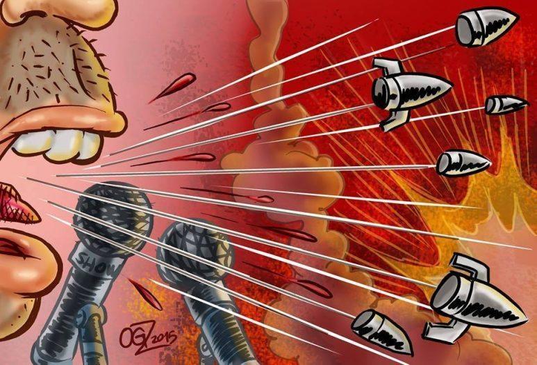 Karikatür Oğuzhan Kayan medya şiddet etik