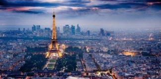 paris şehir görünümü