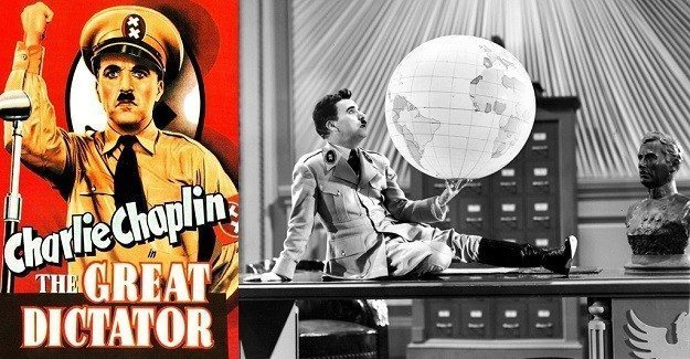the great dictator - büyük diktatör - charlie chaplin