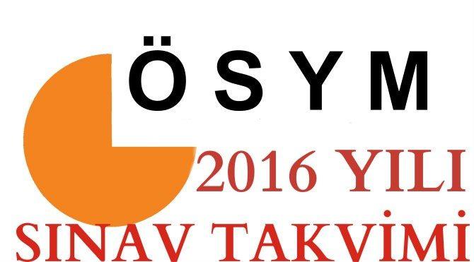 1442392442_ÖSYM Sınav Takvimi 2016