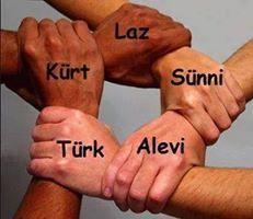türk kürt alevi laz çerkez sünni şii ayrımcılık kardeşlik birlik