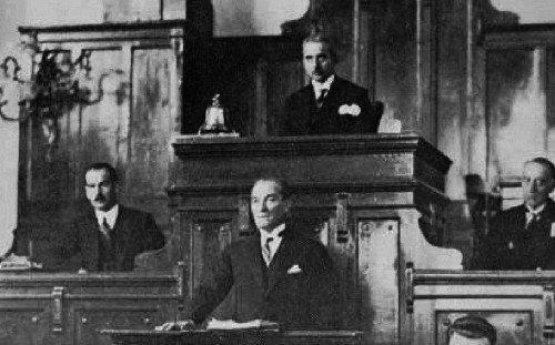 1. meclis bmm tbmm kurucu meclis 1921 anayasası