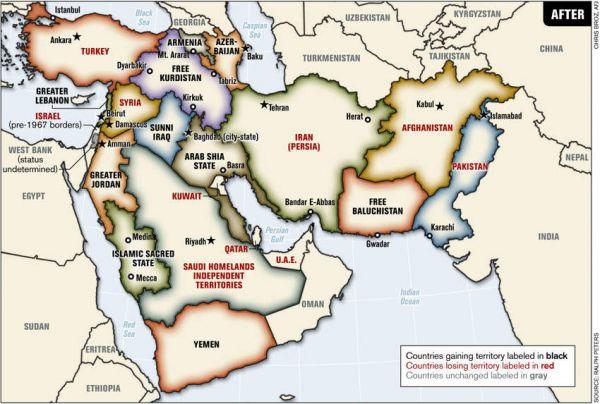 bop büyük ortadoğu projesi türkiye ABD ırak suriye iran israil