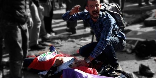 kanlı cumartesi ankara saldırısı sorumlu baris kim erdoğan kılıçdaroğlu bahçeli demirtaş