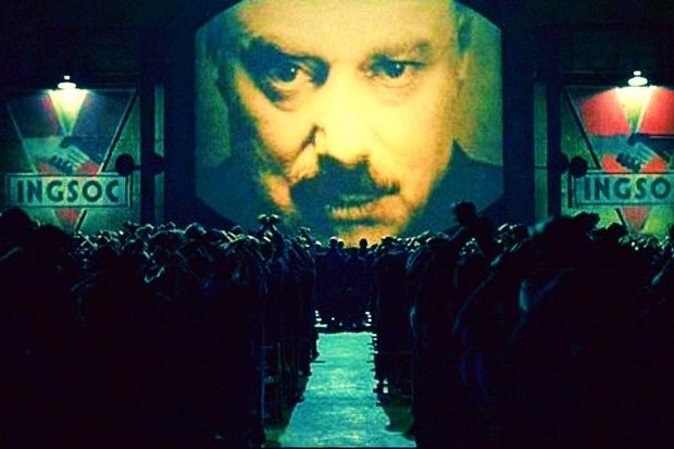 1984 orwell turkiye distopya iktidar medya özgürlük baskı kontrol