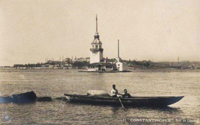 eski istanbul fotograflari kiz kulesi 16. yuzyil osmanli uskudar salacak kiz kulesinin tarihi kiz kulesinin hikayesi